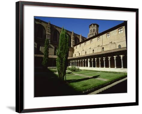 Cloister of Le Couvent Des Augustins, 14th C, Augustins Museum, Toulouse, Midi-Pyrenees, France-Rawlings Walter-Framed Art Print