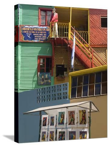 Boca District, Buenos Aires, Argentina, South America-Richardson Rolf-Stretched Canvas Print