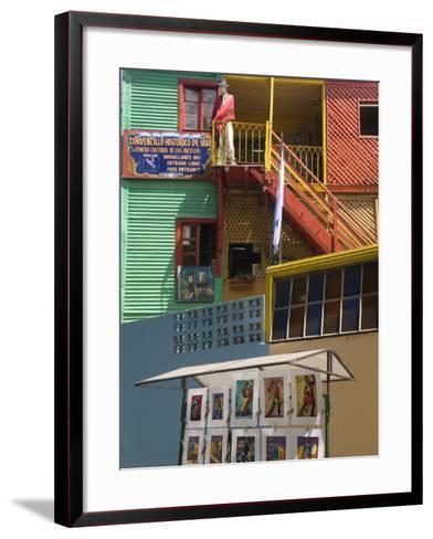 Boca District, Buenos Aires, Argentina, South America-Richardson Rolf-Framed Art Print
