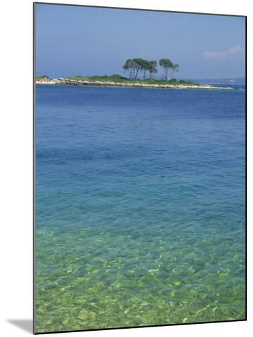 Clear Water Off Red Island, at Rovinj, Croatia, Europe-Short Michael-Mounted Photographic Print