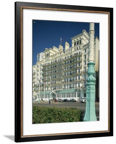 Grand Hotel, Brighton, Sussex, England, United Kingdom, Europe-Richardson Rolf-Framed Art Print