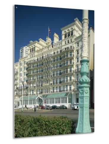 Grand Hotel, Brighton, Sussex, England, United Kingdom, Europe-Richardson Rolf-Metal Print