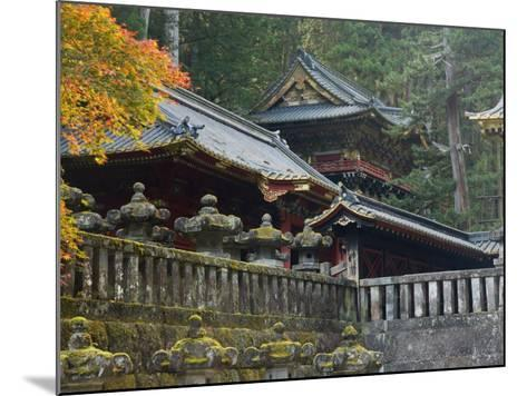 Taiyu-In Mausoleum, Nikko, Central Honshu, Japan-Schlenker Jochen-Mounted Photographic Print