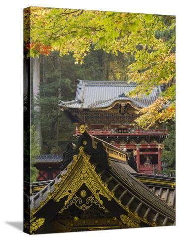Taiyu-In Mausoleum, Nikko, Central Honshu, Japan-Schlenker Jochen-Stretched Canvas Print