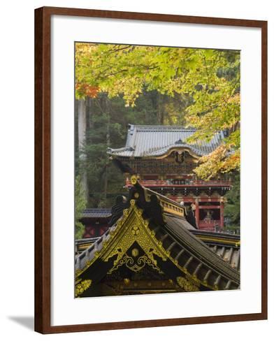 Taiyu-In Mausoleum, Nikko, Central Honshu, Japan-Schlenker Jochen-Framed Art Print