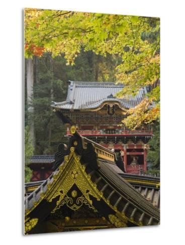 Taiyu-In Mausoleum, Nikko, Central Honshu, Japan-Schlenker Jochen-Metal Print