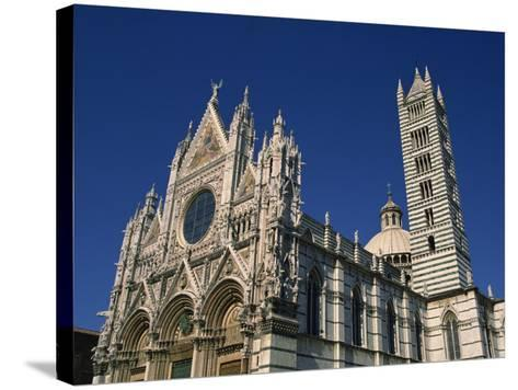 Cathedral, Siena, Tuscany, Italy, Europe-Short Michael-Stretched Canvas Print