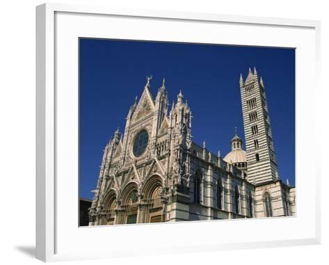 Cathedral, Siena, Tuscany, Italy, Europe-Short Michael-Framed Art Print