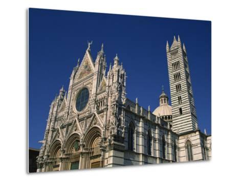 Cathedral, Siena, Tuscany, Italy, Europe-Short Michael-Metal Print