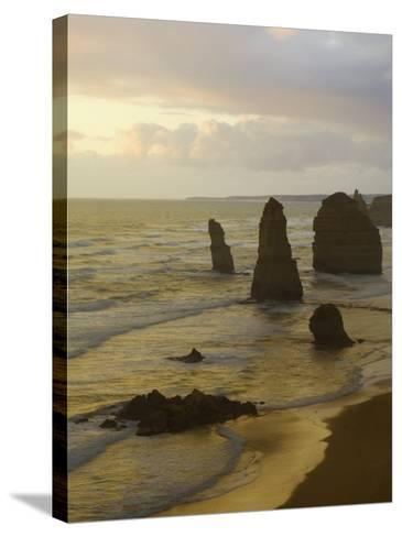 Twelve Apostles, Port Campbell National Park, Great Ocean Road, Victoria, Australia, Pacific-Schlenker Jochen-Stretched Canvas Print
