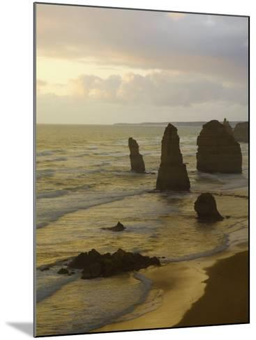 Twelve Apostles, Port Campbell National Park, Great Ocean Road, Victoria, Australia, Pacific-Schlenker Jochen-Mounted Photographic Print