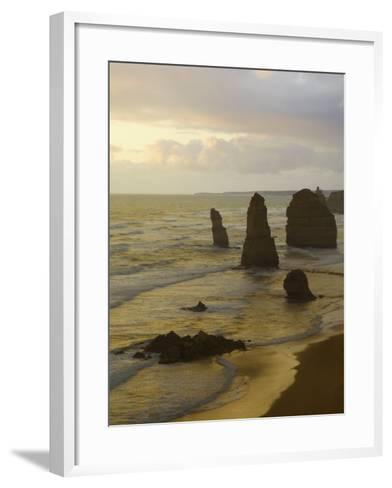 Twelve Apostles, Port Campbell National Park, Great Ocean Road, Victoria, Australia, Pacific-Schlenker Jochen-Framed Art Print