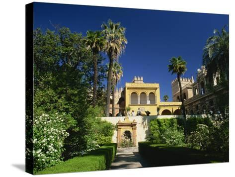 Gardens of the Reales Alcazares, Seville, Andalucia, Spain, Europe-Tomlinson Ruth-Stretched Canvas Print