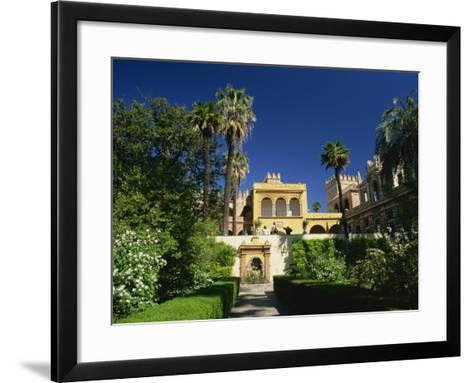 Gardens of the Reales Alcazares, Seville, Andalucia, Spain, Europe-Tomlinson Ruth-Framed Art Print
