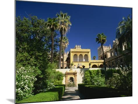 Gardens of the Reales Alcazares, Seville, Andalucia, Spain, Europe-Tomlinson Ruth-Mounted Photographic Print