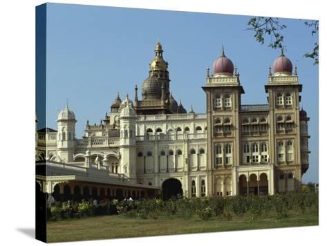 Maharaja's Palace, Mysore, Karnataka State, India-Taylor Liba-Stretched Canvas Print
