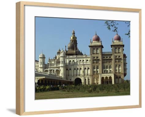 Maharaja's Palace, Mysore, Karnataka State, India-Taylor Liba-Framed Art Print