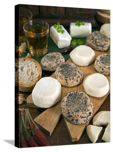Maltese Goat Cheese, Malta, Europe-Tondini Nico-Stretched Canvas Print