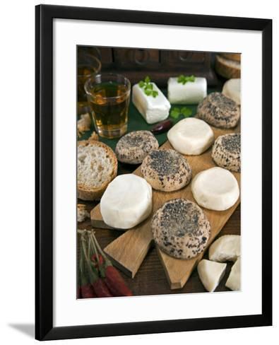 Maltese Goat Cheese, Malta, Europe-Tondini Nico-Framed Art Print
