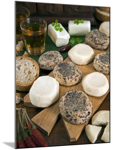 Maltese Goat Cheese, Malta, Europe-Tondini Nico-Mounted Photographic Print
