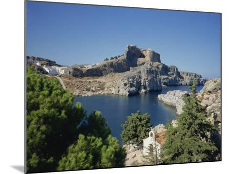 Lindos Acropolis on the Island of Rhodes, Dodecanese, Greek Islands, Greece-Teegan Tom-Mounted Photographic Print