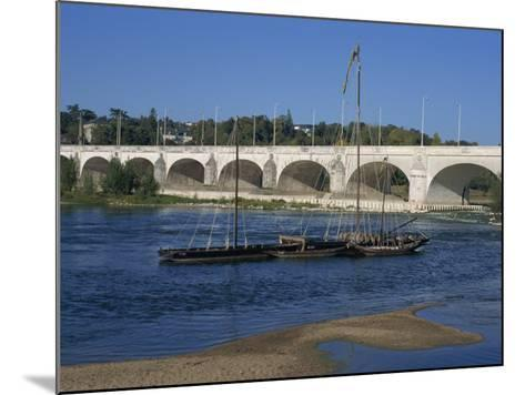 River Loire and Wilson Bridge, Tours, Centre, France, Europe-Thouvenin Guy-Mounted Photographic Print
