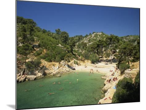 Calanque De Port-Pin, Cassis, Bouches-Du-Rhone, Cote D'Azur, Provence, France, Mediterranean-Tomlinson Ruth-Mounted Photographic Print