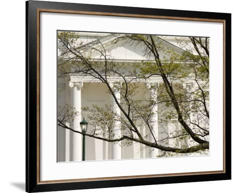 Virginia State Capitol, Richmond, Virginia, United States of America, North America-Snell Michael-Framed Art Print