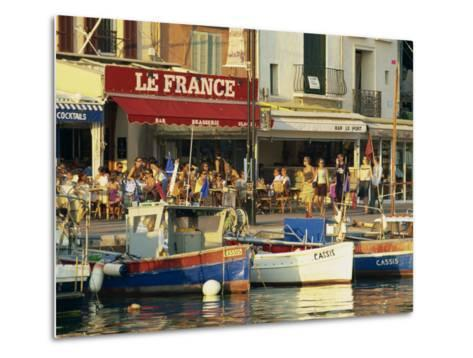 View across the Harbour in the Evening, Cassis, Bouches-Du-Rhone, Cote D'Azur, Provence, France-Tomlinson Ruth-Metal Print