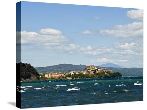 Capodimonte, Lake of Bolsena, Viterbo, Lazio, Italy, Europe-Tondini Nico-Stretched Canvas Print