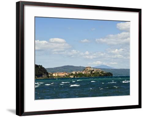 Capodimonte, Lake of Bolsena, Viterbo, Lazio, Italy, Europe-Tondini Nico-Framed Art Print