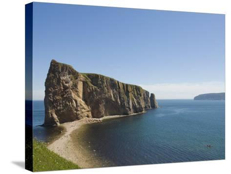Perce, Gaspe Peninsula, Province of Quebec, Canada, North America-Snell Michael-Stretched Canvas Print