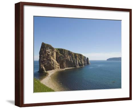 Perce, Gaspe Peninsula, Province of Quebec, Canada, North America-Snell Michael-Framed Art Print