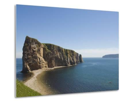 Perce, Gaspe Peninsula, Province of Quebec, Canada, North America-Snell Michael-Metal Print