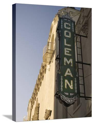 Coleman Theatre, Miami, Oklahoma, United States of America, North America-Snell Michael-Stretched Canvas Print