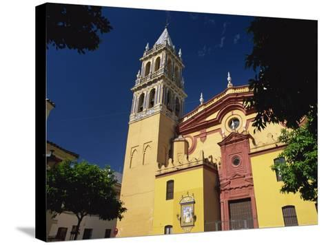 Iglesia De Santa Ana, Triana District, Seville, Andalucia, Spain, Europe-Tomlinson Ruth-Stretched Canvas Print