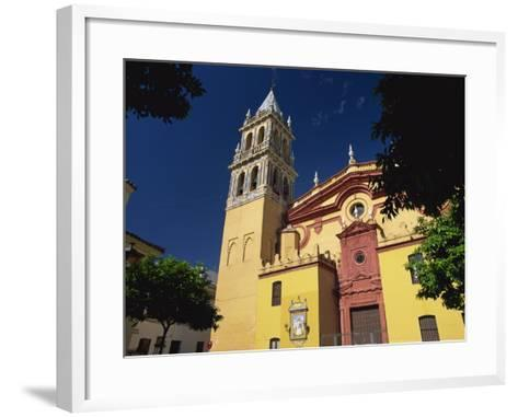 Iglesia De Santa Ana, Triana District, Seville, Andalucia, Spain, Europe-Tomlinson Ruth-Framed Art Print