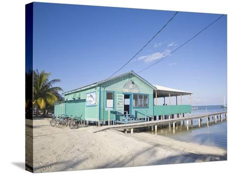 Rainbow Grill and Bar, Caye Caulker, Belize, Central America-Jane Sweeney-Stretched Canvas Print
