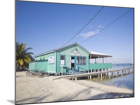 Rainbow Grill and Bar, Caye Caulker, Belize, Central America-Jane Sweeney-Mounted Photographic Print