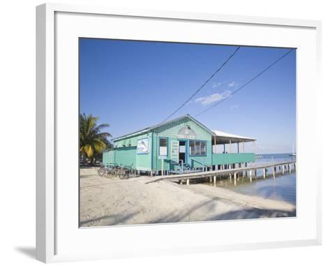 Rainbow Grill and Bar, Caye Caulker, Belize, Central America-Jane Sweeney-Framed Art Print