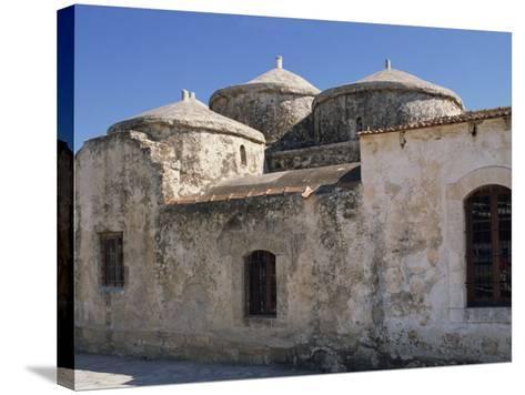 Exterior of the Agia Paraskeri Christian Church, Yeroskipou, Island of Cyprus, Mediterranean-Thouvenin Guy-Stretched Canvas Print