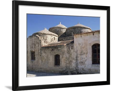 Exterior of the Agia Paraskeri Christian Church, Yeroskipou, Island of Cyprus, Mediterranean-Thouvenin Guy-Framed Art Print