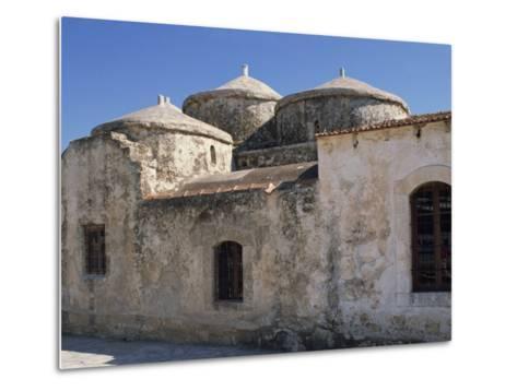 Exterior of the Agia Paraskeri Christian Church, Yeroskipou, Island of Cyprus, Mediterranean-Thouvenin Guy-Metal Print