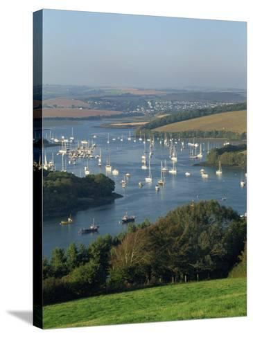 View over the Kingsbridge Estuary from East Portlemouth, Salcombe, Devon, England, United Kingdom-Tomlinson Ruth-Stretched Canvas Print