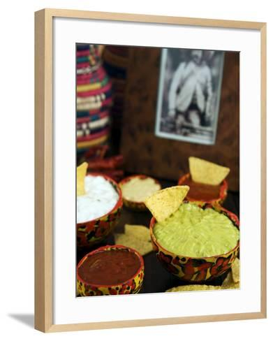 Sauces, Mexican Food, Mexico, North America-Tondini Nico-Framed Art Print