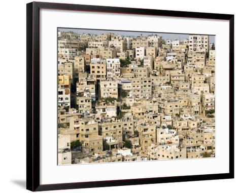View over City, Amman, Jordan, Middle East-Tondini Nico-Framed Art Print