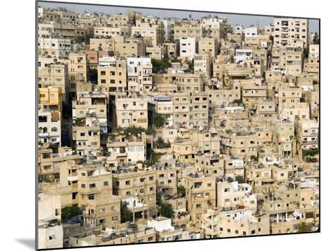 View over City, Amman, Jordan, Middle East-Tondini Nico-Mounted Photographic Print