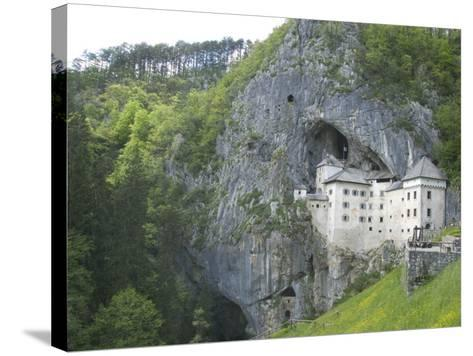 Predjama Castle, Built in Mouth of Cave, Near Postojna, Slovenia, Europe-Waltham Tony-Stretched Canvas Print