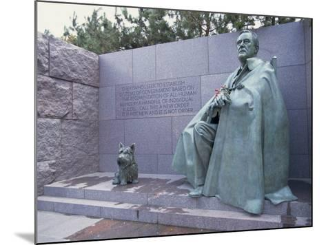 Memorial to Fdr, in Washington Dc, United States of America, North America-Alison Wright-Mounted Photographic Print