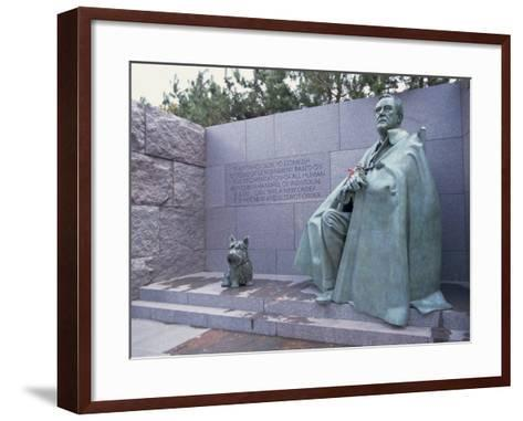 Memorial to Fdr, in Washington Dc, United States of America, North America-Alison Wright-Framed Art Print
